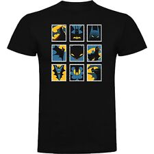 T-SHIRT BATMAN JOKER DC COMIC DARK KNIGHT TSHIRT SIL CCb034