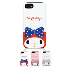 Hello Kitty My Melody 3D Deco Cutie Slim Bumper Cover Case For Apple iPhone 7