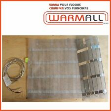 """Warm All Electric Floor Heating Mat 48"""" Wide - 240 Volts"""