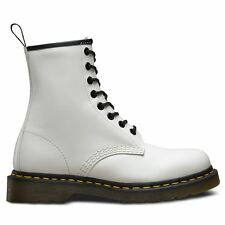 Dr.Martens 1460 8 Eyelet Smooth White Womens Boots