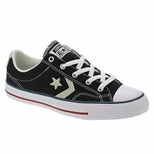 Converse Star Player Low Top Black Mens Trainers