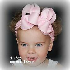 Girls Hair Bows Hair Bow Bundles Lot Sets of hairbows Boutique Bows set of 2