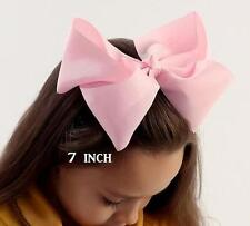 Big Bows Jumbo Hair Bow Lot Set of 12 Southern Style Bows Big 7 inch Hairbows