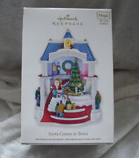 "Hallmark Keepsake Box and Insert Only for ""Santa Comes to Town"" 2011"
