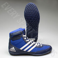 Adidas Mat Wizard 3 Wrestling Shoes AQ6201 - Royal/White/Navy (NEW) Lists @ $105