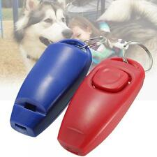 Dog Click Guide Clicker Pet Training Whistle