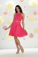 TheDressOutlet Prom Two Piece Set Dress Homecoming Cocktail Party
