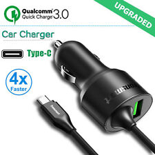 Qualcomm Certified Quick Charge 3.0 Tronsmart 3A USB Type C Fast Car Charger NEW