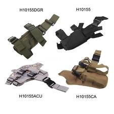 Waterproof Adjustable Tactical Puttee Thigh Leg Pistol Gun Holster Pouch Z2R7