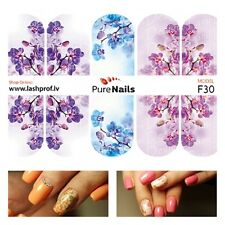 Nail Art Water Transfers Decals Stickers Slider SPRING Normal Size 5x7cm EU
