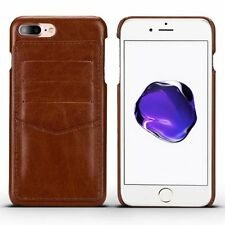 For Apple iPhone 7 & 7 Plus Leather Wallet Credit Card Slot Back Case Skin Cover