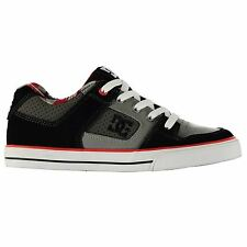 DC Shoes Pure Skate Shoes Juniors Blue/Red Trainers Sneakers Footwear