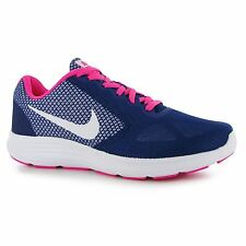 Nike Revolution 3 Running Shoes Womens Purple/White Fitness Trainers Sneakers