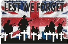 LEST WE FORGET REMEMBRANCE DAY T SHIRT ARMISTICE DAY REMEMBRANCE SUNDAY REMEMBER