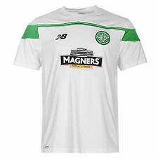 New Balance Celtic FC Training Jersey Mens Green Football Soccer Top Shirt