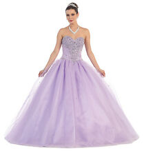TheDressOutlet Quinceanera Long Dresses Homecoming Prom Gown