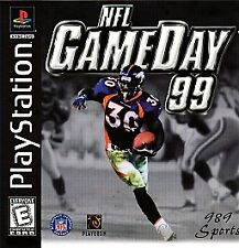 NFL GameDay 99 --Sony PlayStation 1 PS1