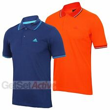 adidas Mens Essentials Clima365 climalite Cotton Polo Shirt Golf Sports Casual