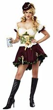 Oktoberfest Bavarian Beer Garden Girl German Adult Costume