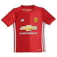 Adidas Manchester United FC Home Jersey 2016 2017 Juniors Red Football Soccer