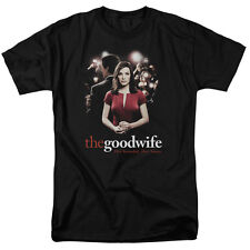 The Good Wife TV Show Cast BAD PRESS Licensed Adult T-Shirt All Sizes