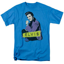 Elvis Presley SITTING Licensed Adult T-Shirt All Sizes