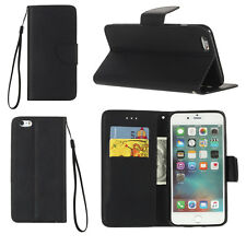 Leather Wallet Phone Case Magnetic Flip Cover Stand For Apple iPhone 6 6s 7 Plus