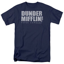 The Office TV Show DUNDER MIFFLIN DISTRESSED Logo T-Shirt All Sizes