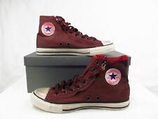 Converse John Varvatos Double Zip Hi Chuck Taylor ALL STAR BLACK CHILI 129644C