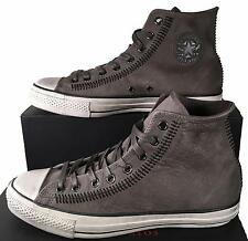 Converse by John Varvatos Chuck Taylor Artisan Stitch Suede Leather Gray 150163C