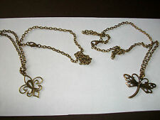 *****SALE***** ANTIQUE BRONZE TONE PENDANT & NECKLACE - 3 STYLES TO CHOOSE FROM