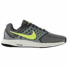 Nike Downshifter 7 Trainers Mens Grey/Volt Sports Shoes Sneakers Footwear