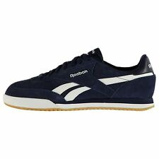 Reebok Rayen Suede Casual Trainers Mens Nvy/Wht/Gum Fashion Trainers Sneakers