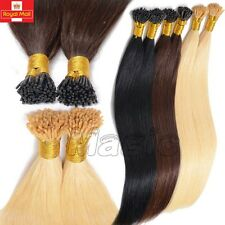 7A Micro Ring Pre Bonded Stick Tip I Tip 100%Remy Human Hair Extensions 0.5 N418