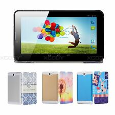 7'' inch Android4.4 Tablet PC 8GB 2SIM 3G Phablet Dual Core Camera Bundled case