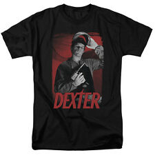 Dexter TV Show Dexter with Power Tool SEE SAW Licensed T-Shirt All Sizes