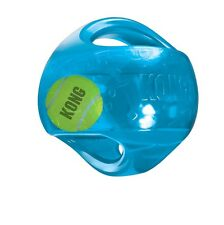 Kong Jumbler Ball for Dog Toy - M to XL NEW favorite toy Interior tennis ball