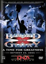 TNA Wrestling Bound For Glory 2005 DVD AJ Styles Jeff Hardy Sabu Samoa Joe WWE