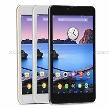 """Unlocked 7"""" Touch Quad Core cell Phone Dual SIM Android Smartphone 3G Phablet"""