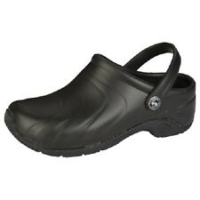 CLOGS  ZONE Anywear Injected Clog w/Backstrap Black