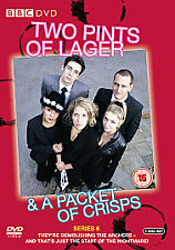 Two Pints Of Lager And A Packet Of Crisps - Series 6 - Complete (DVD, 2-Disc Set