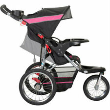 Baby Trend Expedition Carbon Jogger Stroller, 3 Large All Terrain, Pink Trim,