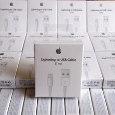 LOT - OEM Original Lightning USB Charger Cable For Apple iPhone 6 6s 6 Plus X 8