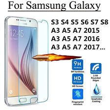 0.26mm 9H Premium Tempered Glass Screen Protector Film for Samsung Galaxy Phones