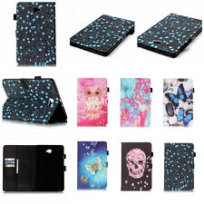 Luxury Flip Leather Wallet Case Card Slot Cover For Apple/Sumsung Series Tablet
