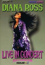 Diana Ross: Live in Concert DVD Region ALL