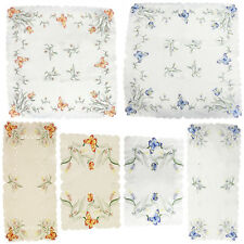 Traditional & Vintage Table Runner / Table Cloth / Tray Cloth – Floral Pattern
