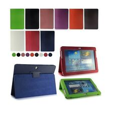 "Flip LEATHER Stand Case Cover for SAMSUNG Galaxy Tab 2 10.1"" Inch P5100 P5110"
