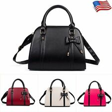 Women Ladies PU Leather Handbag Shoulder Tote Purse Messenger Hobo Bag Satchel