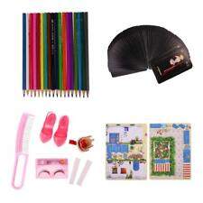 Plastic Dolls House Miniature Doll AccessoryColour Pencil for Fairy Dolls Toy